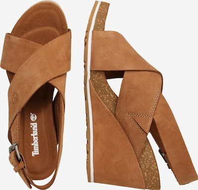 TIMBERLAND Sandale 'Capri Sunset X-Band Sandal' in cognac: Seitenansicht