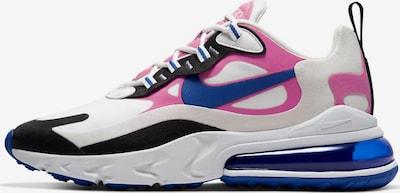 NIKE Sneaker 'Air Max 270 React' in blau / pink / schwarz / weiß, Produktansicht
