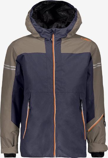 CMP Jacke in dunkelbeige / taubenblau, Produktansicht
