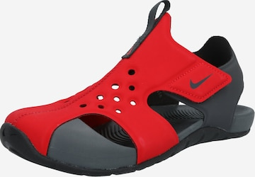 Nike Sportswear Beach & swim shoe 'Sunray Protect' in Red