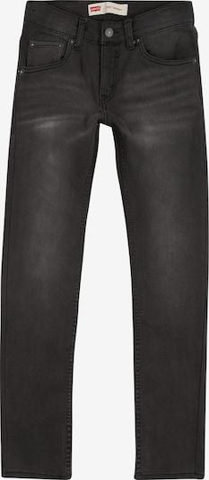 LEVI'S Jeans '510 Skinny Fit' in black denim, Produktansicht