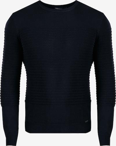 Finn Flare Pullover in nachtblau: Frontalansicht