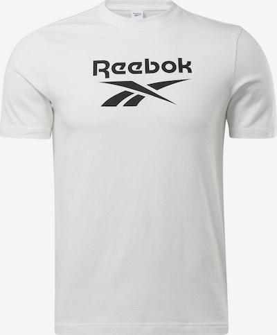 Reebok Classic T-Shirt in schwarz / weiß, Produktansicht