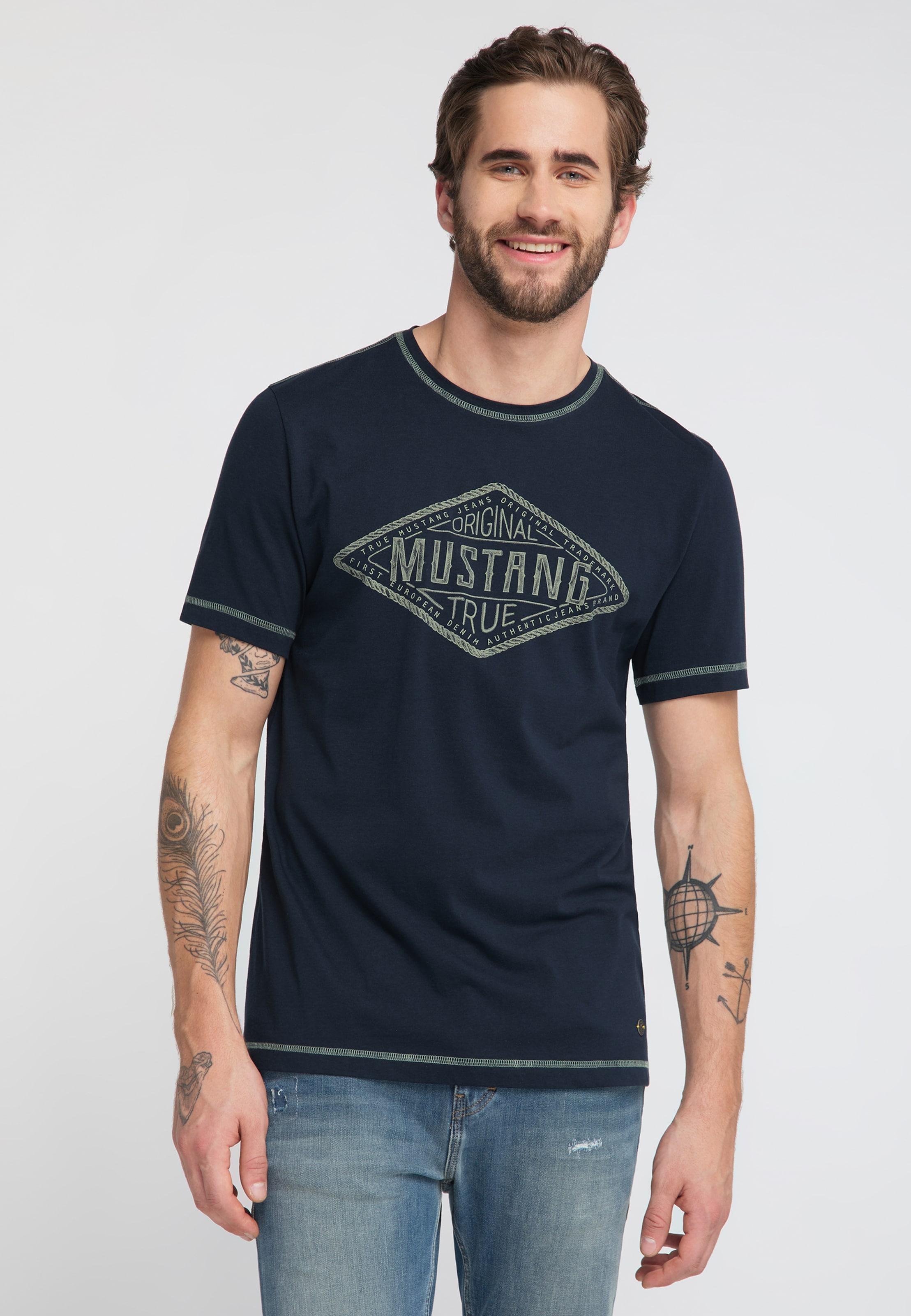 Dunkelblau C' 'alex In Shirt Mustang nO0wPk