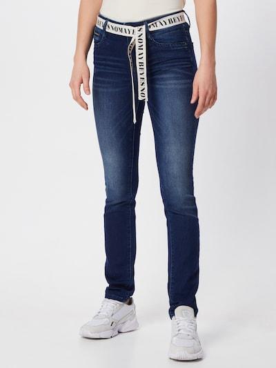 TOM TAILOR Jeanshosen Alexa Slim Jeans in blue denim, Modelansicht