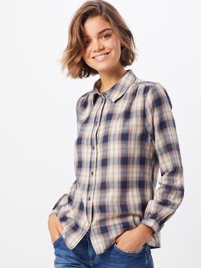 ONLY Bluse 'DANTE' in nachtblau / rosa, Modelansicht