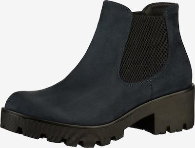 RIEKER Chelsea boots '99284' in de kleur Navy: Vooraanzicht