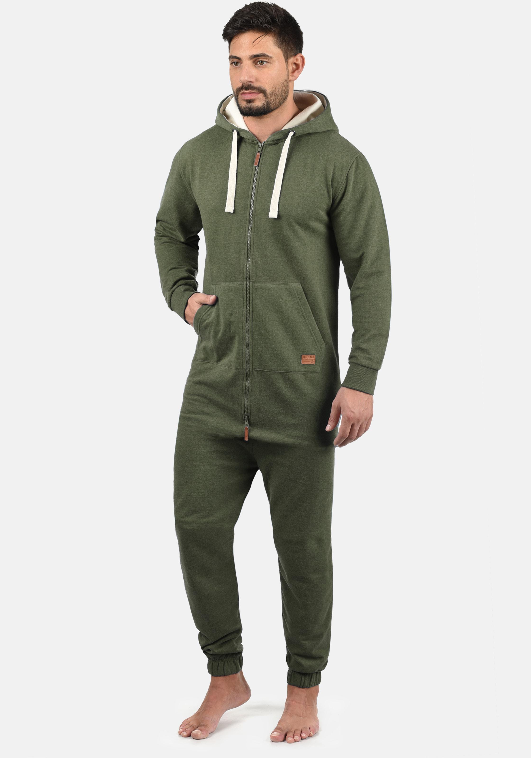 BLEND Overall 'Salinho' in grün Unifarben ART114695-010