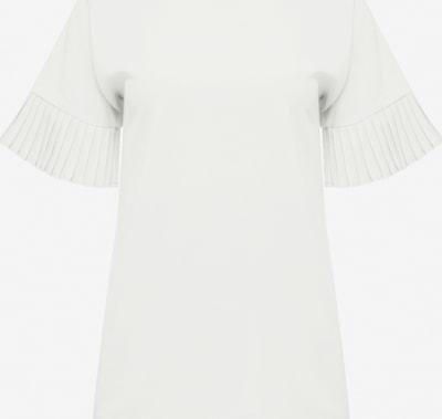 Usha Blouse in de kleur Wit: Vooraanzicht