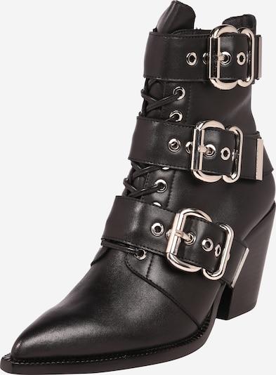 Jeffrey Campbell Stiefelette 'Caceres' in schwarz / silber, Produktansicht