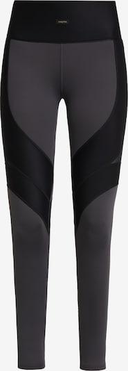 Daquïni Sportbroek 'Lux' in de kleur Grijs / Zwart, Productweergave