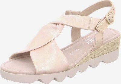 GABOR Sandalette in puder, Produktansicht