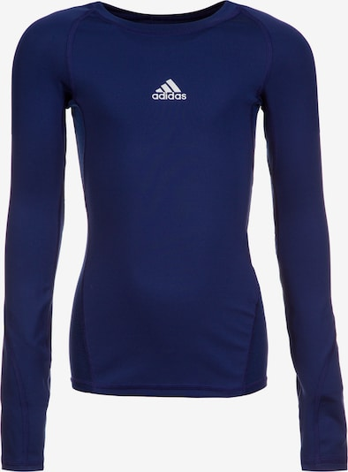 ADIDAS PERFORMANCE Trainingsshirt 'AlphaSkin' in dunkelblau, Produktansicht