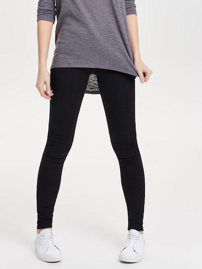 ONLY Skinnyjeans in schwarz, Modelansicht