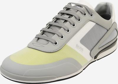 BOSS Sneaker 'Saturn_Lowp_act4' in gelb / hellgrau / weiß, Produktansicht