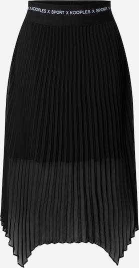 THE KOOPLES SPORT Suknja 'Jupe' u crna, Pregled proizvoda