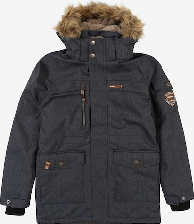 KILLTEC Jacke 'KAAPO' in blue denim, Produktansicht