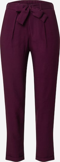 Trendyol Pantalon à pince en aubergine, Vue avec produit