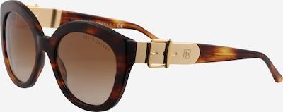 RALPH LAUREN Sonnenbrille '0RL8185' in braun / gold, Produktansicht