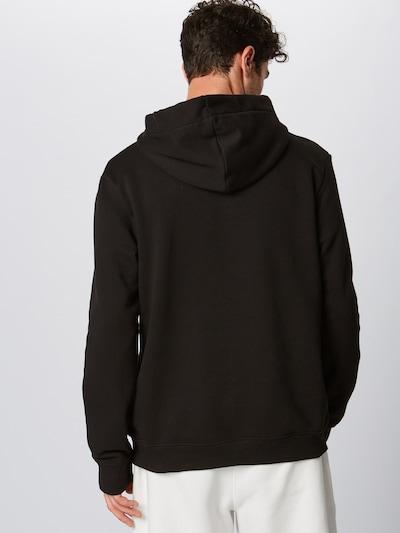 Megztinis be užsegimo 'Mick' iš PARI , spalva - juoda / balta: Vaizdas iš galinės pusės