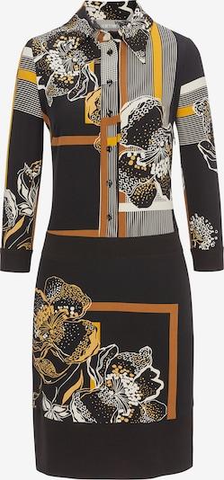 Nicowa Kleid 'Itanja' in orange / schwarz / weiß, Produktansicht