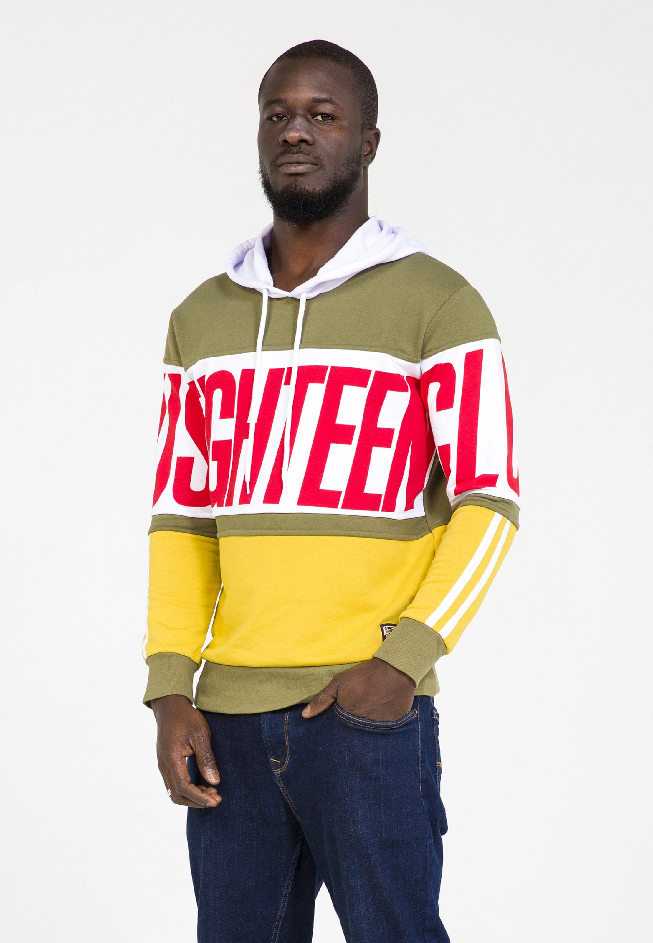 En Plus Sweat shirt Couleurs De Eighteen KakiMélange L5A4Rj