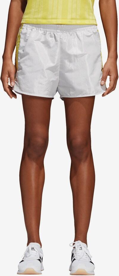ADIDAS ORIGINALS Shorts 'FSH L W' in gelb / weiß, Modelansicht