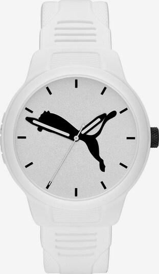PUMA Uhr 'Reset V2' in schwarz / weiß, Produktansicht