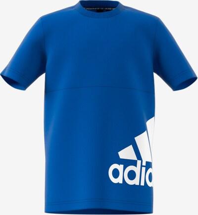ADIDAS PERFORMANCE T-Shirt 'YB MH Bos T2' in blau / weiß, Produktansicht