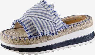 Kamoa Espandrillos 'Dulah' in blau / weiß, Produktansicht