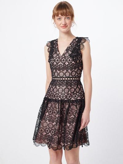 Laona Kleid in rosa / schwarz, Modelansicht