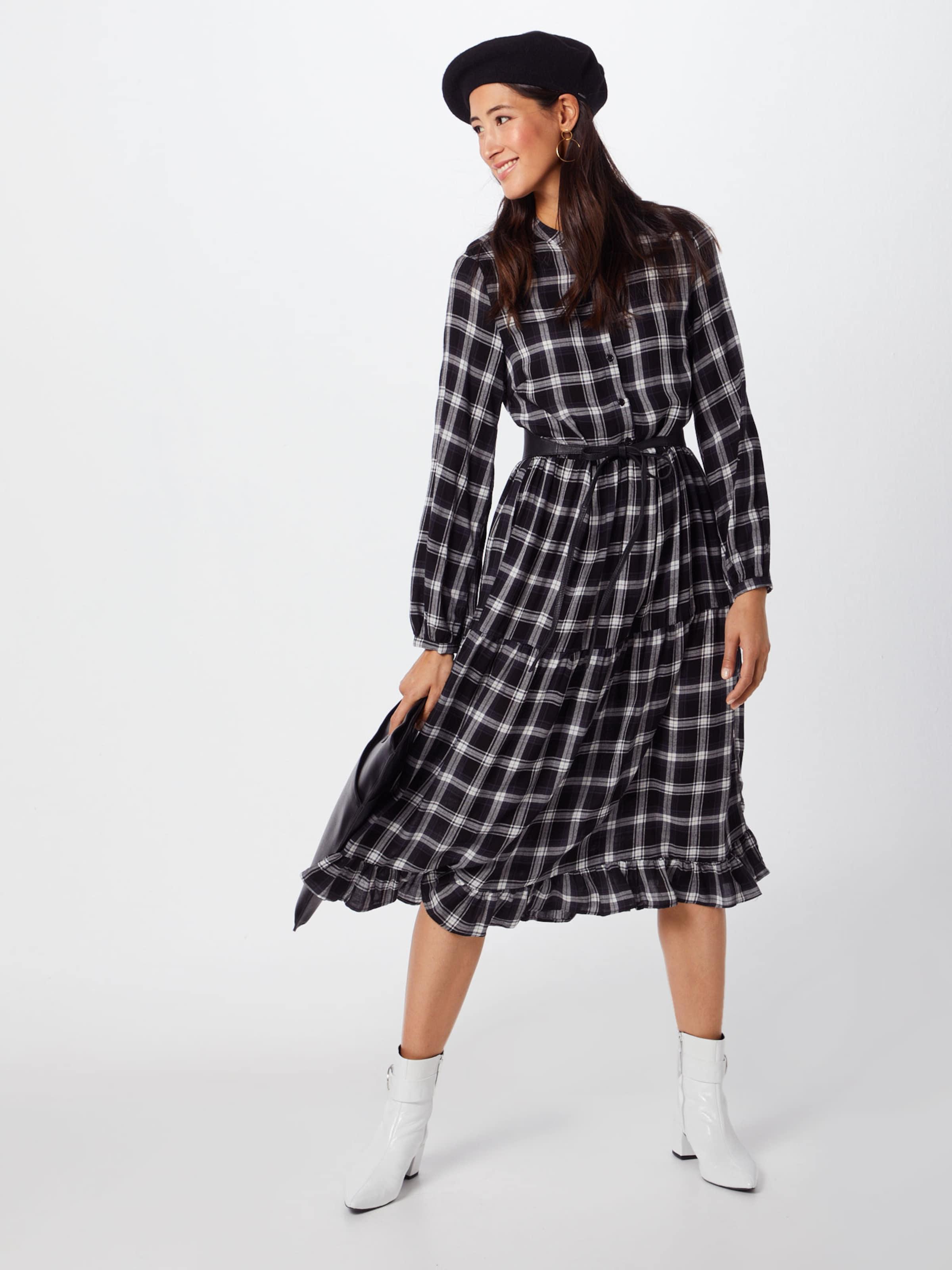 L s Vila En Dress' Robe NoirBlanc 'vikallie 9eWD2bEYHI