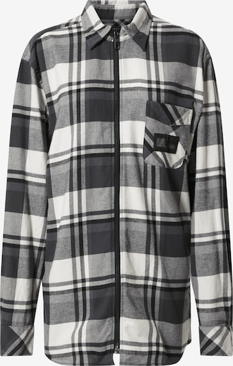 TOMMY HILFIGER Hemd in elfenbein / grau / schwarz, Produktansicht