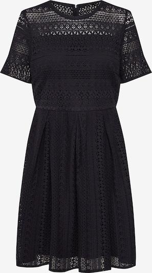 VERO MODA Kleid 'VMHONEY LACE PLEATED S/S DRESS EXP' in schwarz: Frontalansicht
