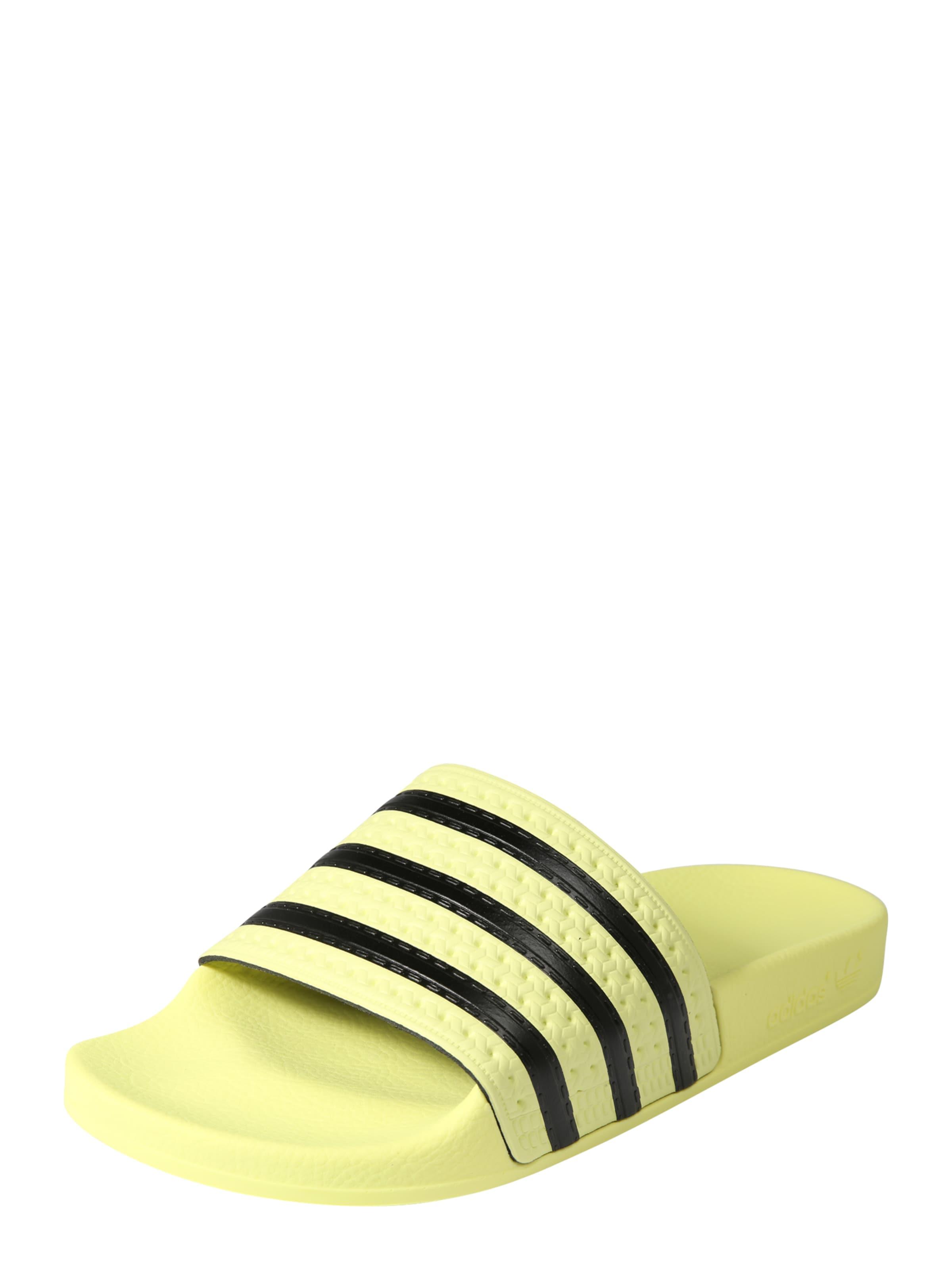 Originals Mule Noir Jaune 'adilette' En Pastel Adidas O81wqRdR