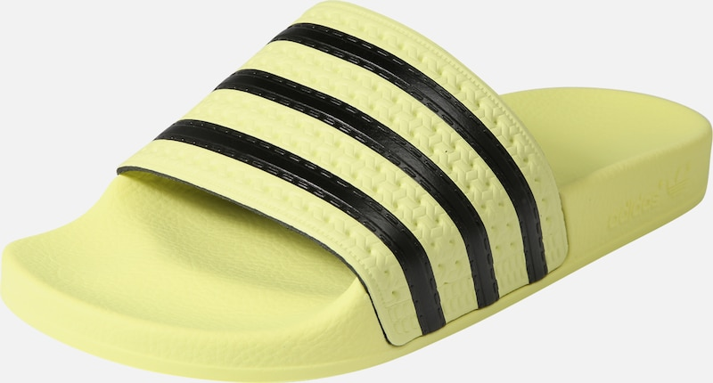 'adilette' Pastel Originals En ClaquettesTongs Noir Adidas Jaune W2HD9IYE
