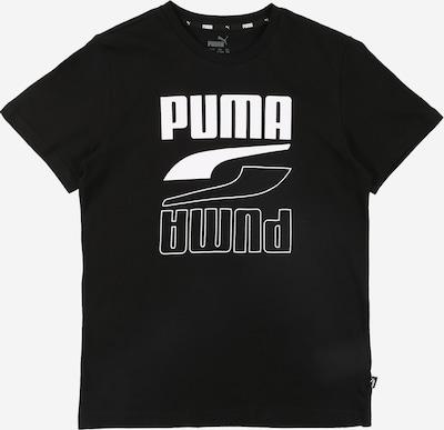 PUMA Shirt 'Rebel Bold' in de kleur Zwart / Wit, Productweergave