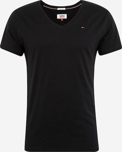Tommy Jeans T-Shirt 'TJM ORIGINAL JERSEY V NECK TEE' in schwarz, Produktansicht