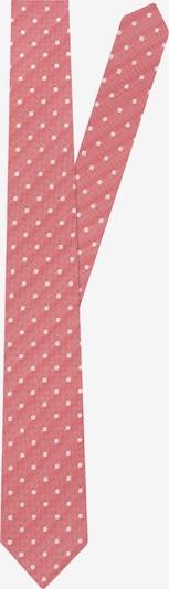 Jacques Britt Krawatte in hellrot / weiß, Produktansicht