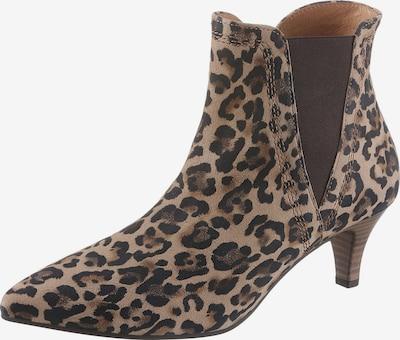 GABOR Ankle Boots in beige / schwarz, Produktansicht