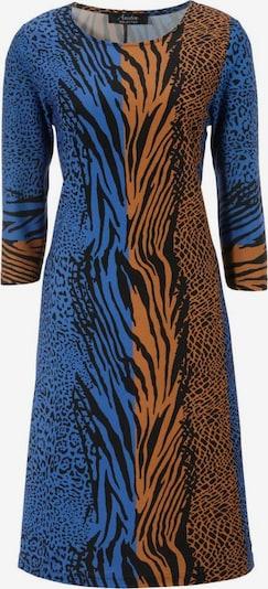 Aniston SELECTED Kleid in blau / braun / schwarz, Produktansicht