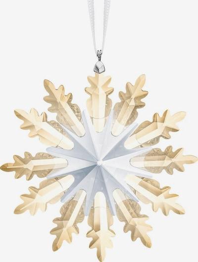 Swarovski Dekofigur 'Winter Sternornament' in hellbeige / transparent, Produktansicht