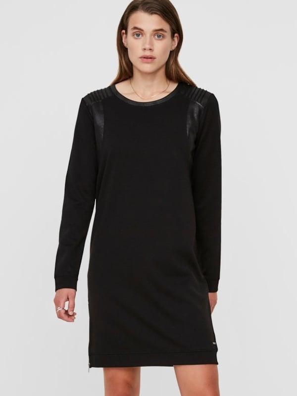 VERO MODA Lässiges Kleid mit langen Ärmeln