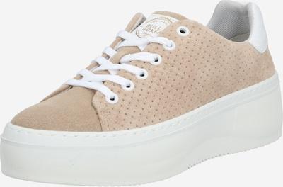 BULLBOXER Sneaker in dunkelbeige / weiß, Produktansicht
