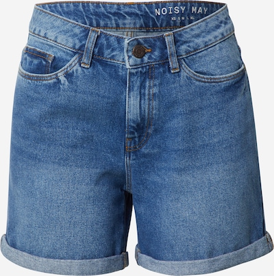 Noisy may Shorts 'SMILEY' in blue denim, Produktansicht
