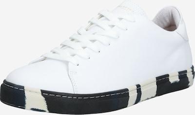 fekete / fehér SELECTED HOMME Rövid szárú edzőcipők '16065976', Termék nézet