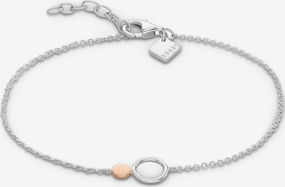 QOOQI Armband in rosegold / silber, Produktansicht