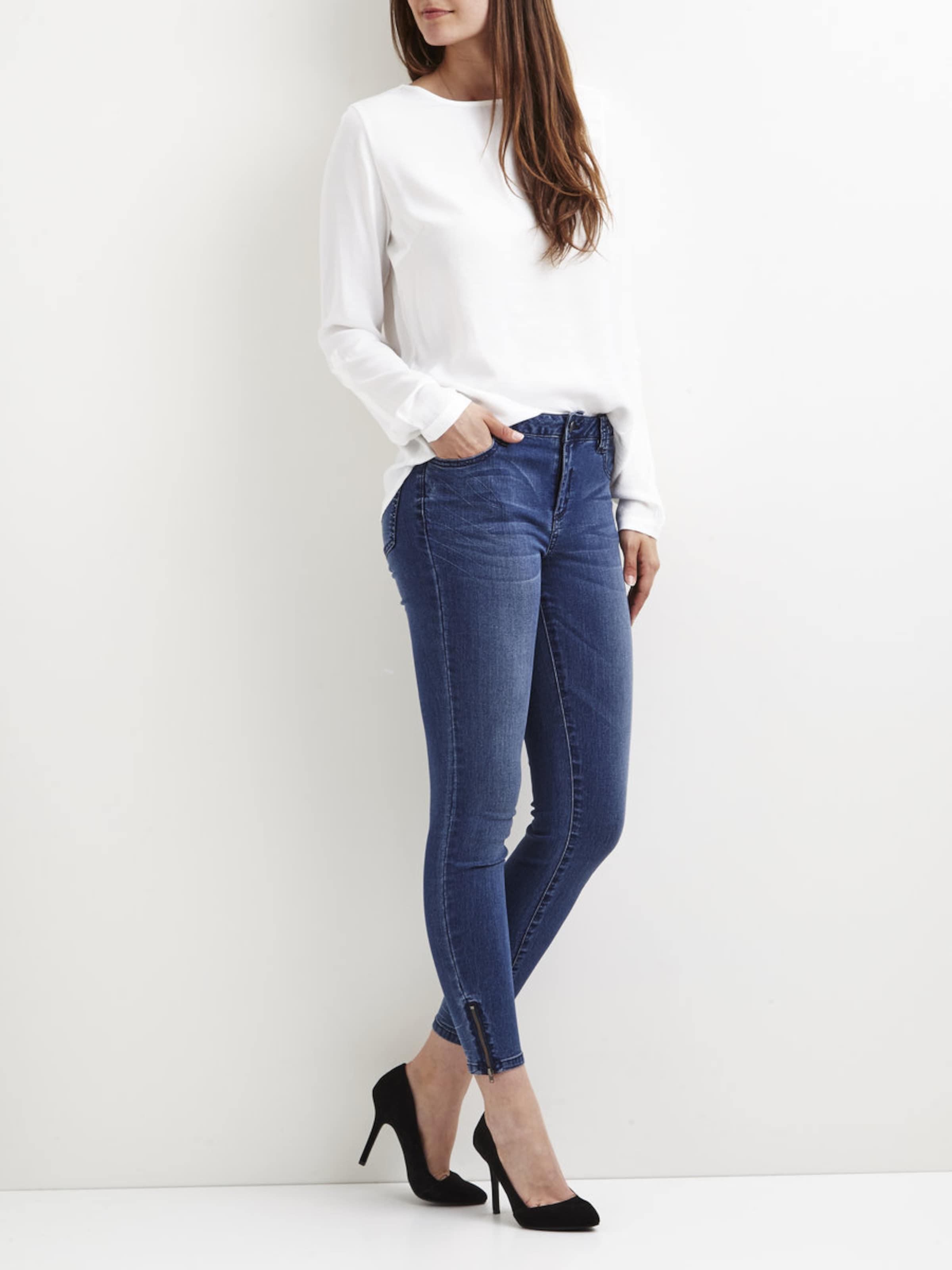 'vicommit Slimfit Blue Lux' jeans Denim In Vila MVSGqLUpz
