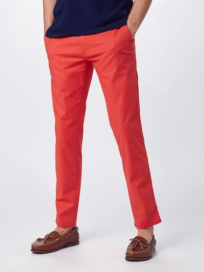 BRAX Hose 'Fabio' in rot, Modelansicht