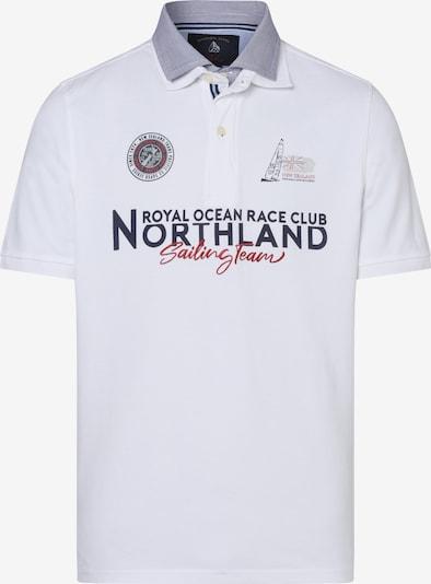 Andrew James Poloshirt ' ' in weiß, Produktansicht